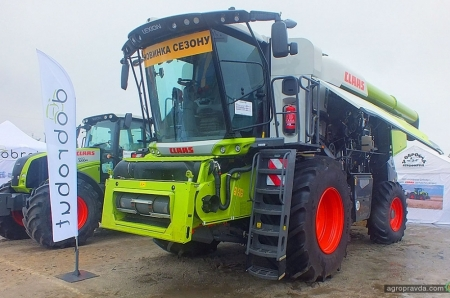 На выставке AgroExpo представили комбайн Lexion нового поколения