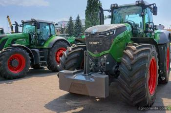 В Киеве представили модельный ряд тракторов Fendt