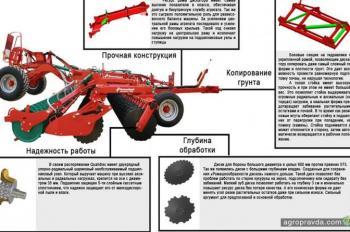 Особенности дискатора Kverneland Qualidisc Pro T