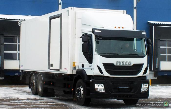 В Украине продан первый газовый грузовик IVECO Stralis CNG
