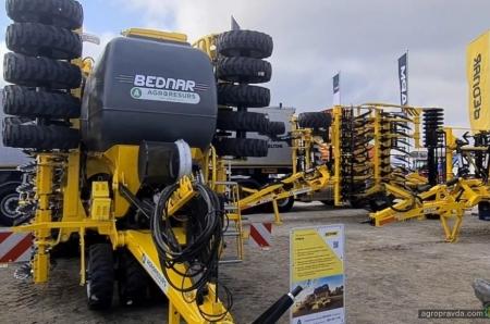 Какую технику Bednar представил на АгроЭкспо-2021. Фото