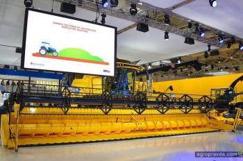 Состоялась премьера «топового» комбайна New Holland