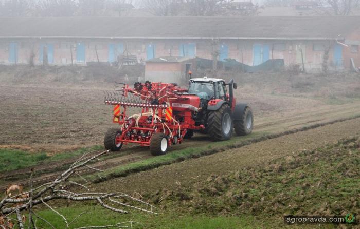 Аграрии засеяли яровыми зерновыми 6,9 млн га