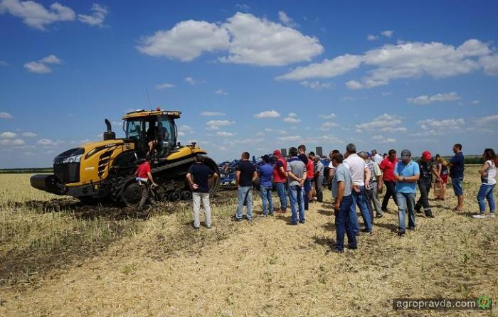 Аграрии оценили новинки на Дне поля АМАКО