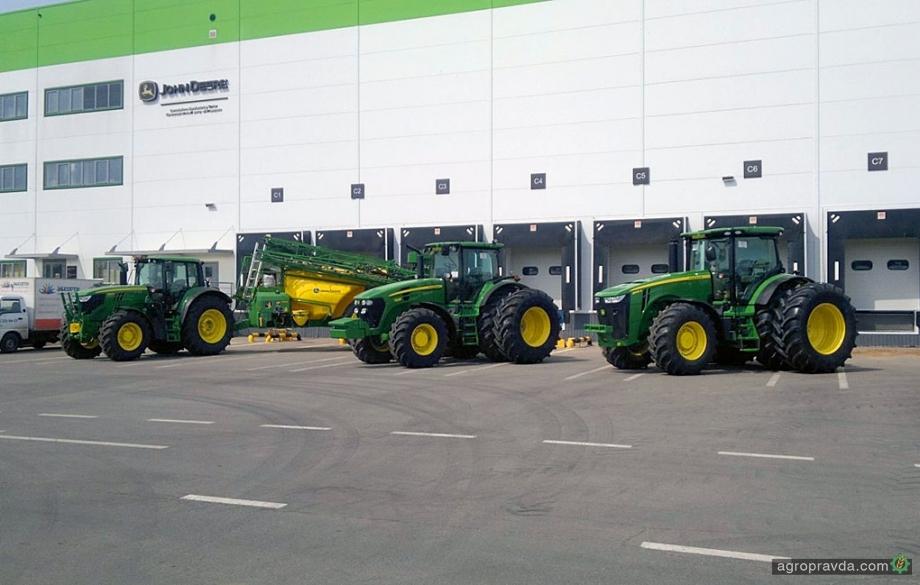 John Deere перенесет производство сельхозтехники в Оренбург