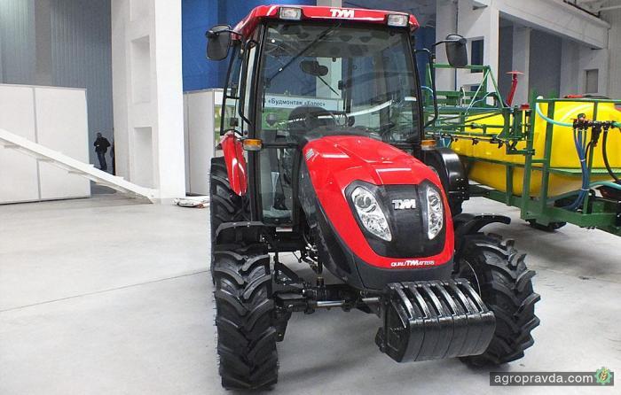 В Украине появился новый бренд тракторов