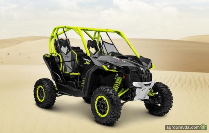 Can-Am представил новый мотовездеход Maverick X ds Turbo