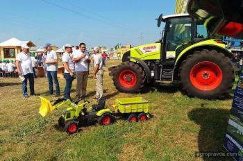 Технику CLAAS представили на Форуме аграрных инноваций