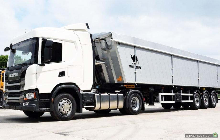 Scania представит новый зерновоз