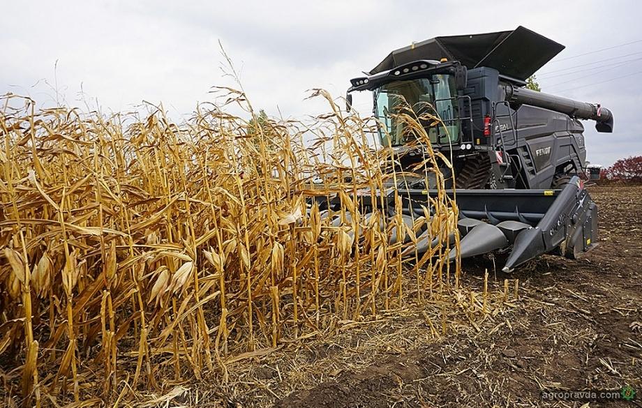 Fendt Ideal испытали на уборке кукурузы под Полтавой