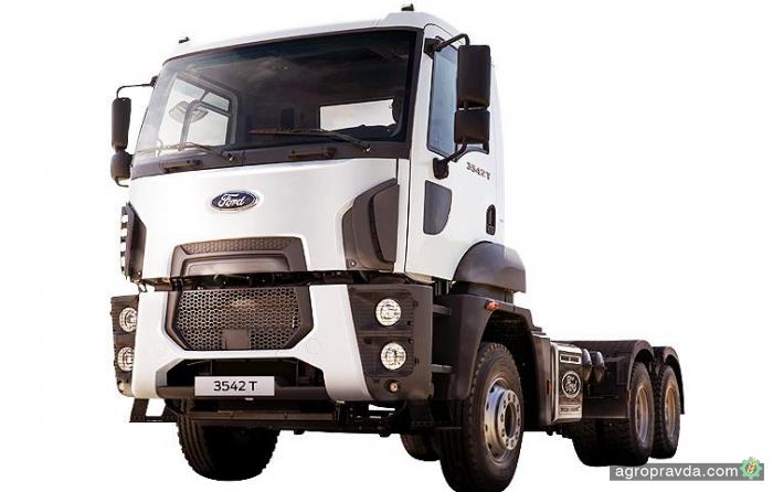 Новый тягач FORD TRUCKS 3542T представят в Украине