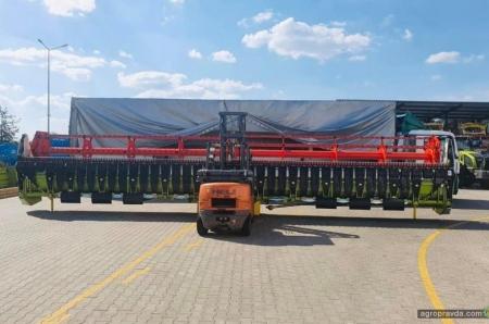 В Украине появился самый мощный Claas Lexion новой линейки