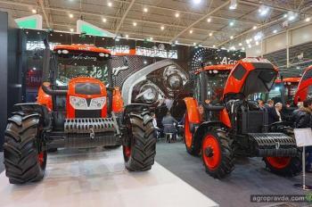 В Киеве представили линейку тракторов Zetor