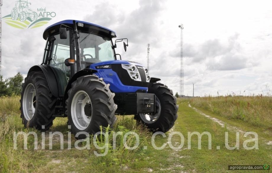 Новый 100-сильный трактор Solis в Украине: видео