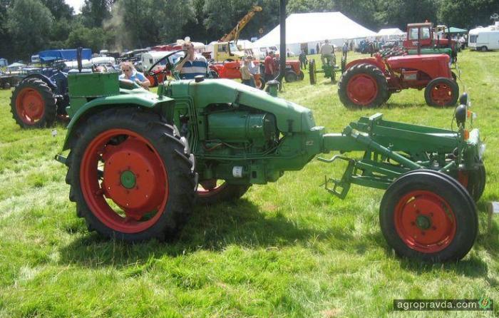 Тракторы из прошлого. Видео
