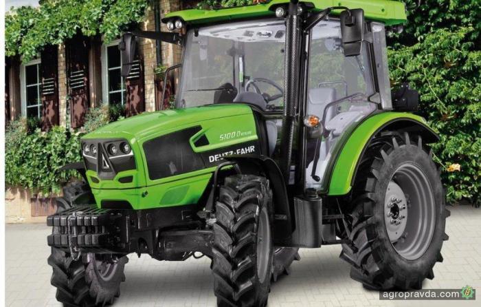 Deutz-Fahr выпустил новую серию компактных тракторов