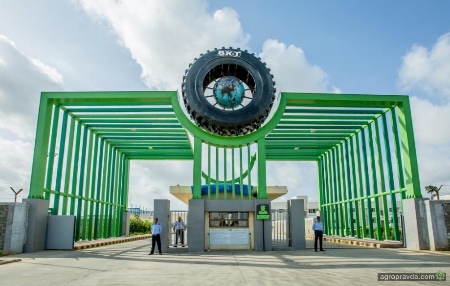 Индийские заводы BKT восстанавливают производство шин
