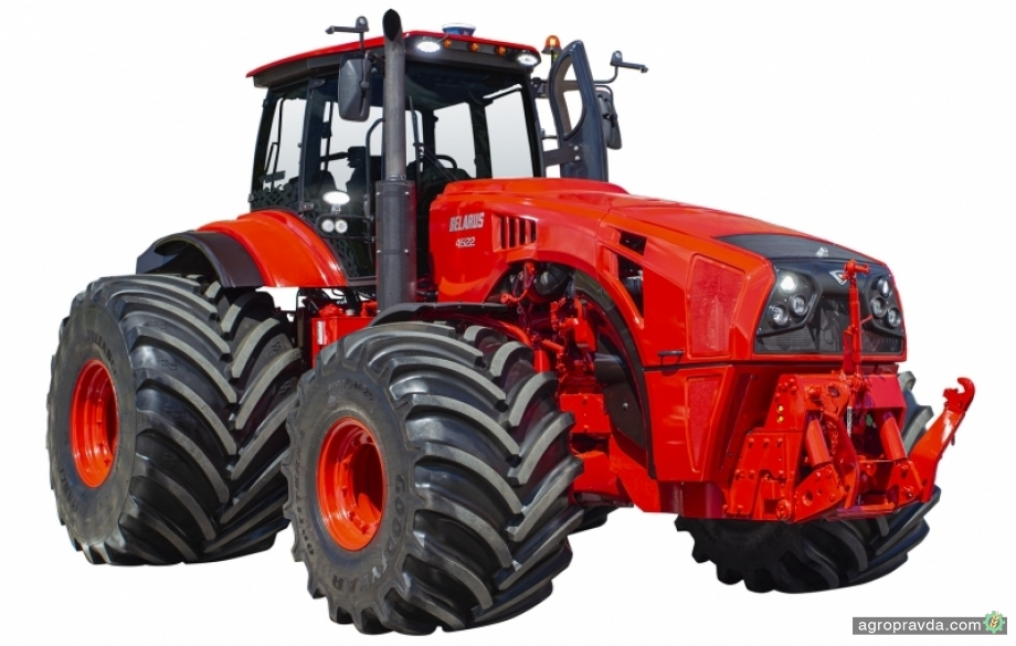 МТЗ презентует обновленный трактор BELARUS-4522