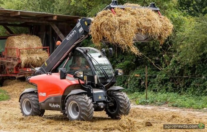 Kubota стремится в новый сегмент сельхозтехники