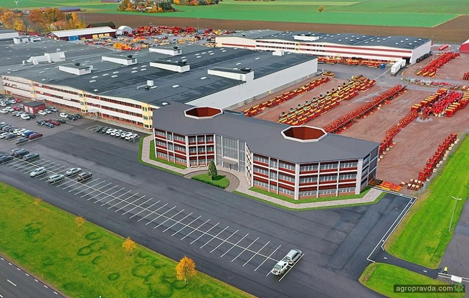 Väderstad розширюється - новий виробничий центр буде готовий у 2022 році