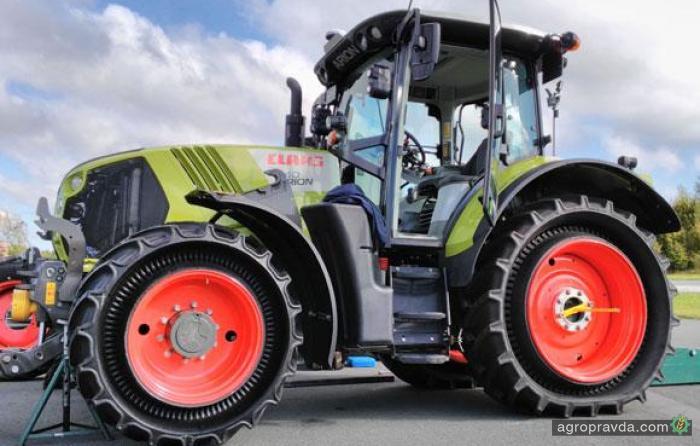 Пневматические шины для сельхозтехники скоро уйдут в прошлое