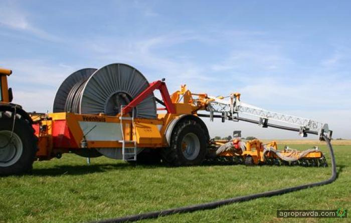 Особенности удобрения полей в Голландии. Видео