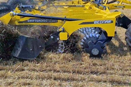 Техніку Bednar продемонстрували на заході «УКАБ. Агротехнології 2021.Степ»