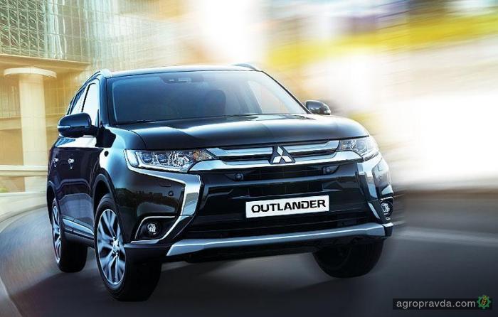 Для покупателей Mitsubishi Outlander в апреле действуют выгодные условия