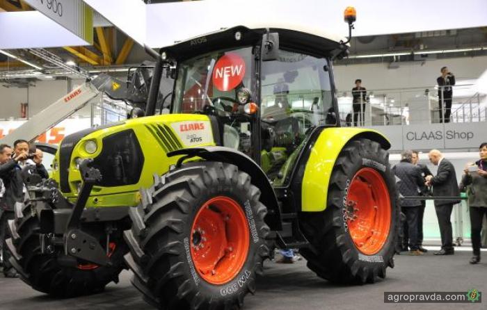 Claas представил новые тракторы Atos