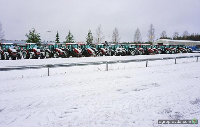 Европейский рынок тракторов демонстрирует стремительный рост