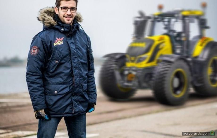 Трактор Valtra превратится в спорт-кар