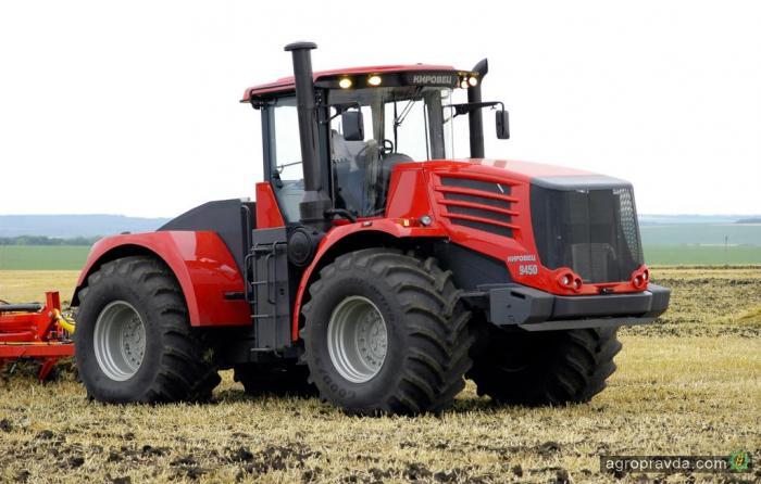«Кировец» обошел конкурентов по продажам тракторов