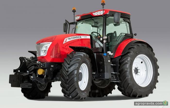 Трактора McCormick X7 стали еще мощнее