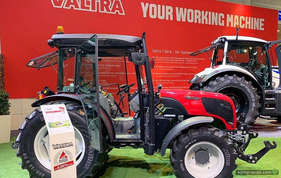 Valtra Agritechnica-2019 представила новую серию тракторов