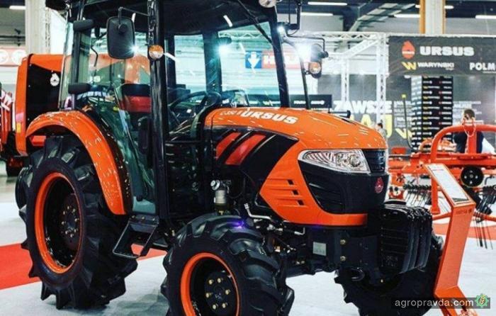 Появился первый польско-корейский трактор