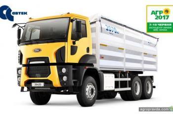 Какую технику представил Ford Trucks для украинских аграриев