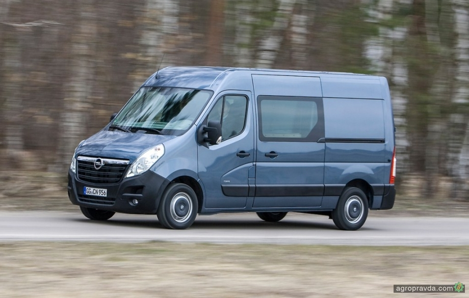 В Украине доступна эксклюзивная версия Opel Movano
