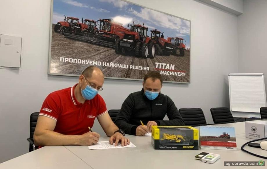 Bednar закрепил за Titan Machinery Черниговскую область