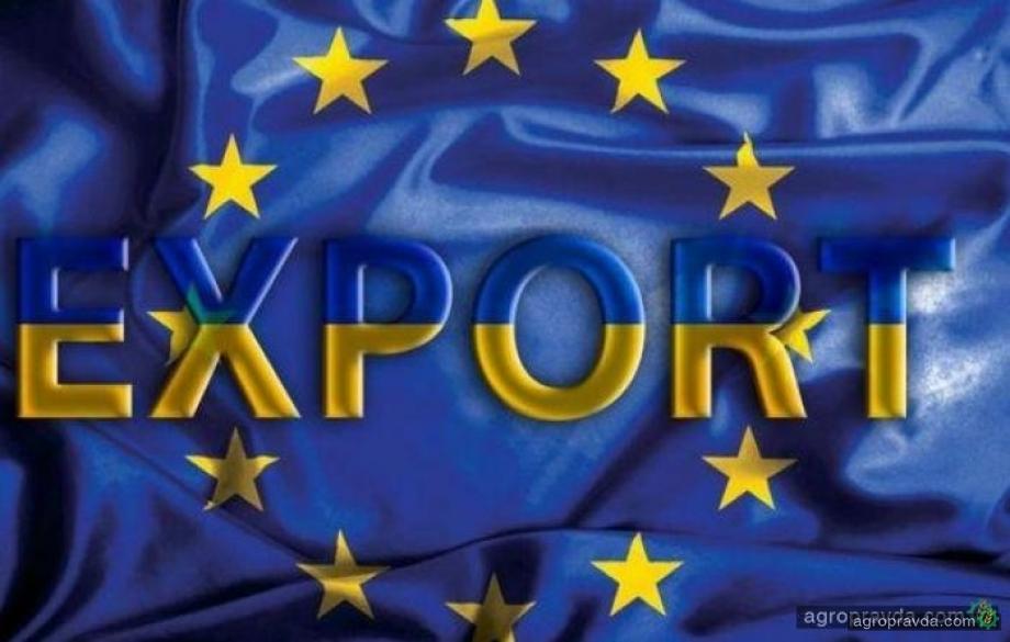 Украина заняла третье место в списке крупнейших поставщиков агропродукции в ЕС