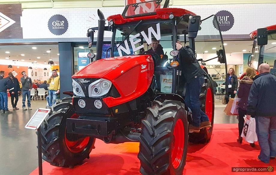 Новый Zetor Proxima показали на выставке LAMMA