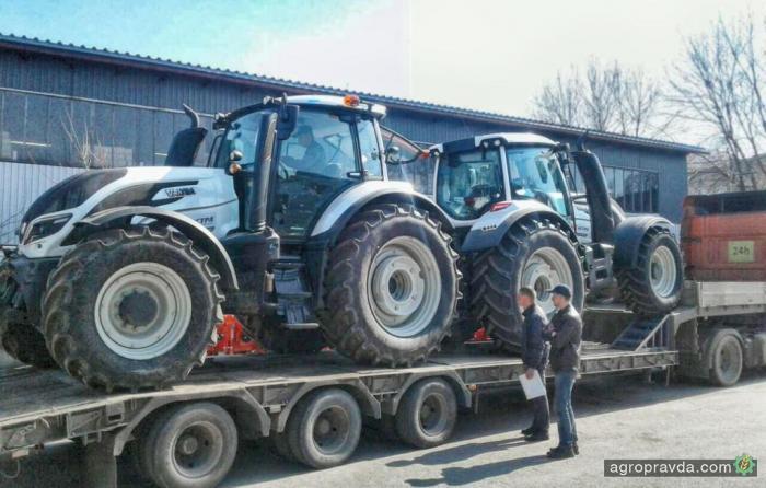 Первые тракторы Valtra отправляются в хозяйства Украины