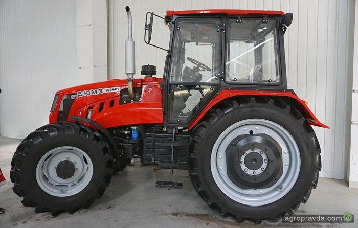 ЮМЗ готовится к промышленной сборке новых тракторов