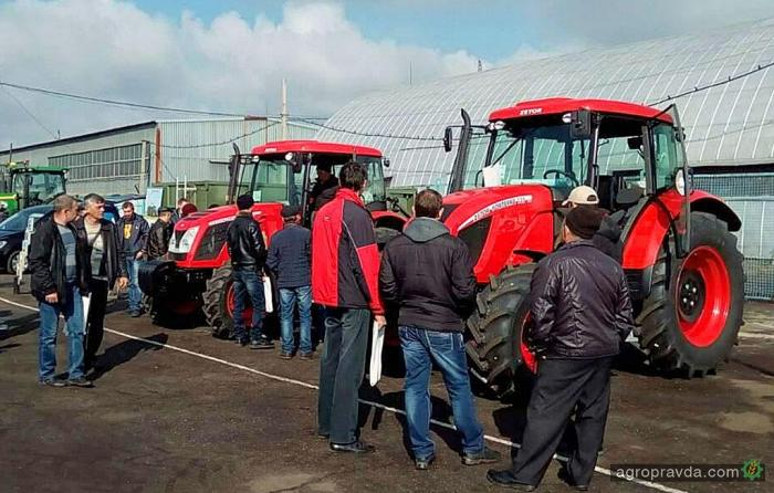 В Днепре представили тракторы Zetor