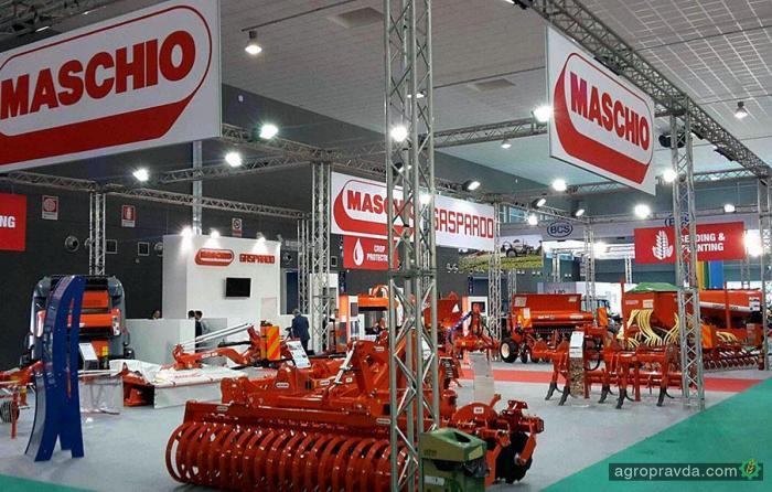 Maschio Gaspardo представит свои новейшие разработки. Фото