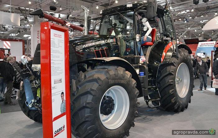 Case IH выпустила «платиновый трактор»