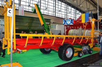 Украинские компании представили новинки на крупнейшей выставке сельхозтехники