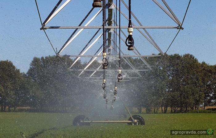 В Украине увеличилась площадь орошаемых полей