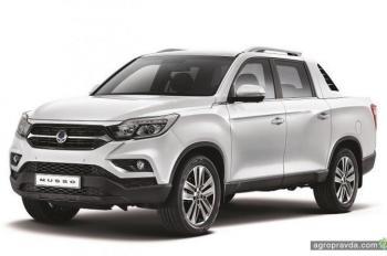 SsangYong уже весной привезет в Украину автомобиль для аграриев