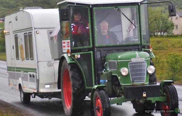 Как трактор заменил кроссовер