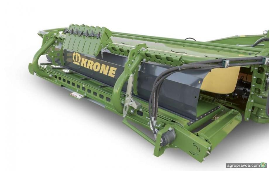 Krone представил новый поперечный ленточный транспортер для косилок